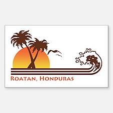 Roatan Honduras Decal