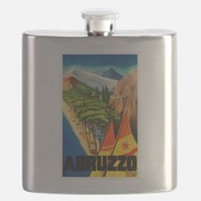 Abruzzo Italy - Vintage Travel Flask