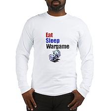 Eat, Sleep, Wargame Long Sleeve T-Shirt