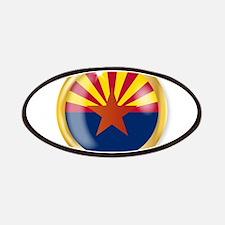 Arizona Flag Button Patch