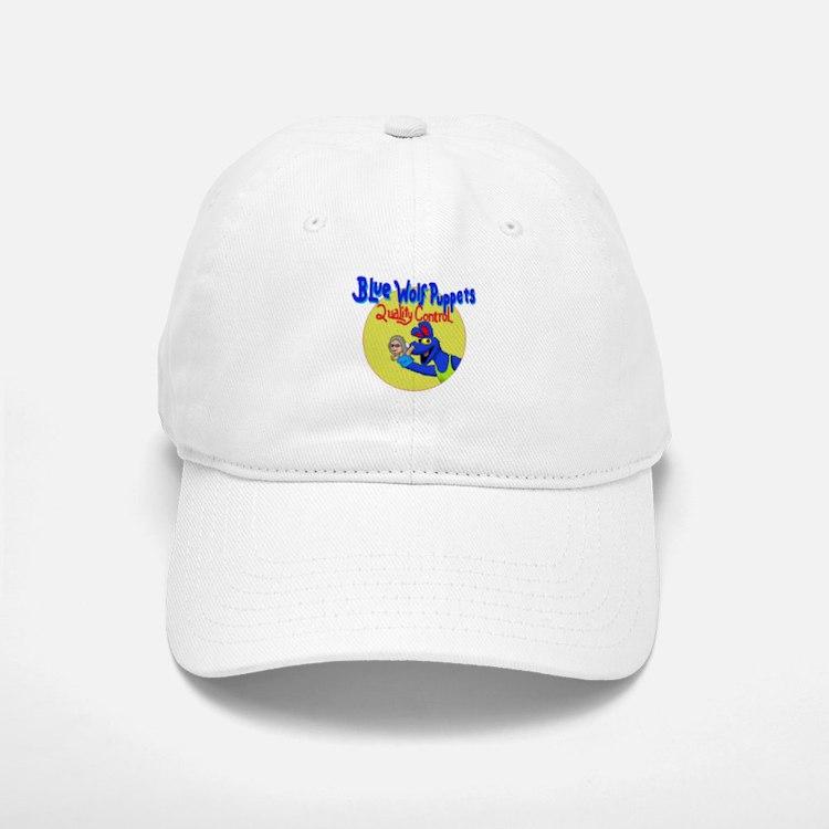 Blue Wolf Puppets Quality Control Baseball Baseball Cap