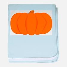 Juicy Pumpkin baby blanket