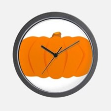 Juicy Pumpkin Wall Clock
