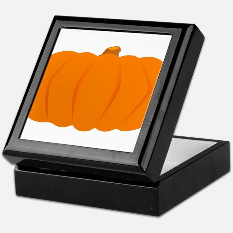 Juicy Pumpkin Keepsake Box