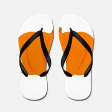 Juicy Pumpkin Flip Flops