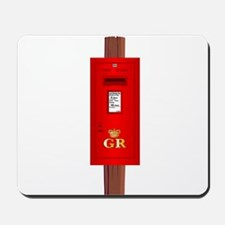 Post Mounted Post Box. Mousepad
