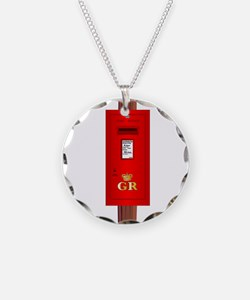 Post Mounted Post Box. Necklace