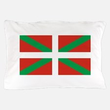 Euskadi Flag - Basque Country - Ikurri Pillow Case