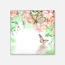 Butterfly Flowers Sticker