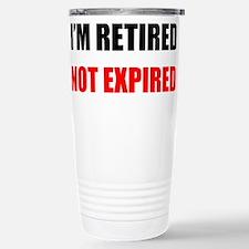 Cute Funny retired teacher Travel Mug