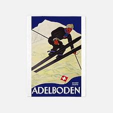 Adelboden Switzerland - Swiss Alps Ski Travel 5'x7