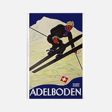 Adelboden Switzerland - Swiss Alps Ski Travel Magn