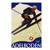 Vintage ski Postcards
