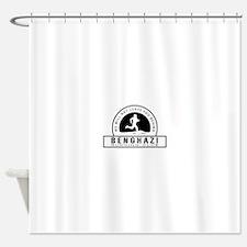 Benghazi Running Club Shower Curtain