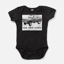 Cute Ford Baby Bodysuit