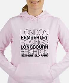 Pride and Prejudice Locations Jumper Sweatshirt