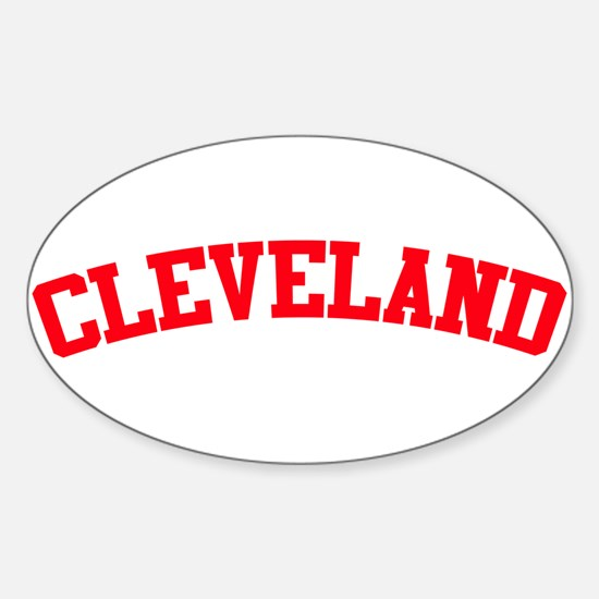 Cleveland Oval Decal
