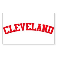 Cleveland Rectangle Decal