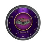 Sorcery Wall Clock (Royal)