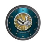 Thaumaturgy Wall Clock (Aqua)