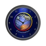Elementalism Wall Clock (Blue)