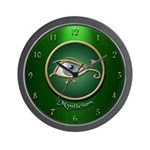 Mysticism Wall Clock (Green)