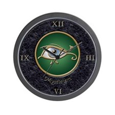 Mysticism Marble Inlay Wall Clock