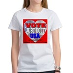 Vote Just Do It USA Women's T-Shirt