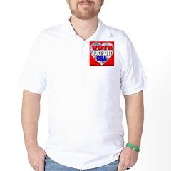 Vote Just Do It USA Golf Shirt