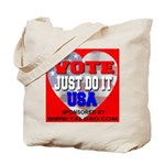 Vote Just Do It USA Tote Bag