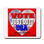 Vote Just Do It USA Mousepad