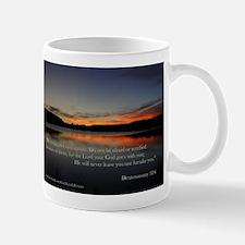 deuteronomy 3:16 Sunset Mugs