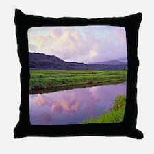 Hanalei Dawn Kauai Throw Pillow