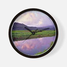 Hanalei Dawn Kauai Wall Clock