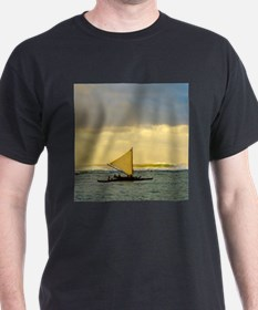Tropical Sunset Sail and Surf T-Shirt