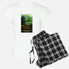 Adirondack Mountains Lake Placid N.Y. Pajamas