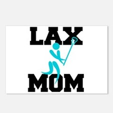 Unique Lacrosse moms Postcards (Package of 8)