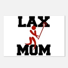 Cute Lacrosse moms Postcards (Package of 8)