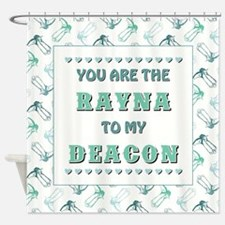 RAYNA to DEACON Shower Curtain