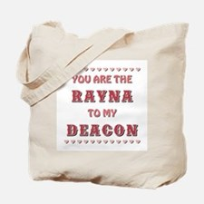 RAYNA to DEACON Tote Bag