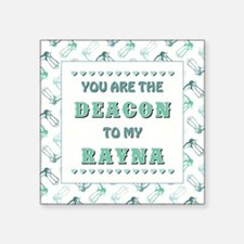 DEACON to RAYNA Sticker