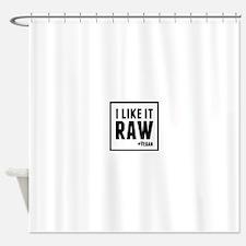 Raw (Vegan) Shower Curtain