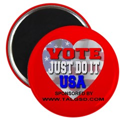 Vote Just Do It USA Magnet