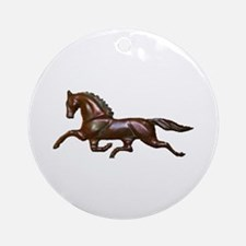Trot Ornament (Round)