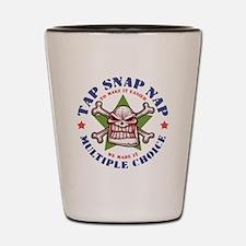 Tap Snap Nap Shot Glass