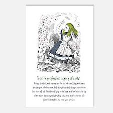 Eight Alice's Evidence Postcards