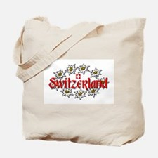 Swiss Edelweiss Tote Bag
