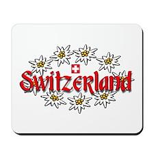 Swiss Edelweiss Mousepad