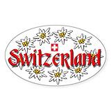 Swiss Stickers & Flair
