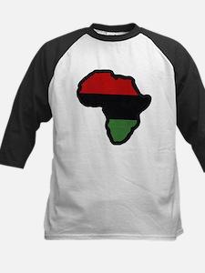 Afrika - White Baseball Jersey